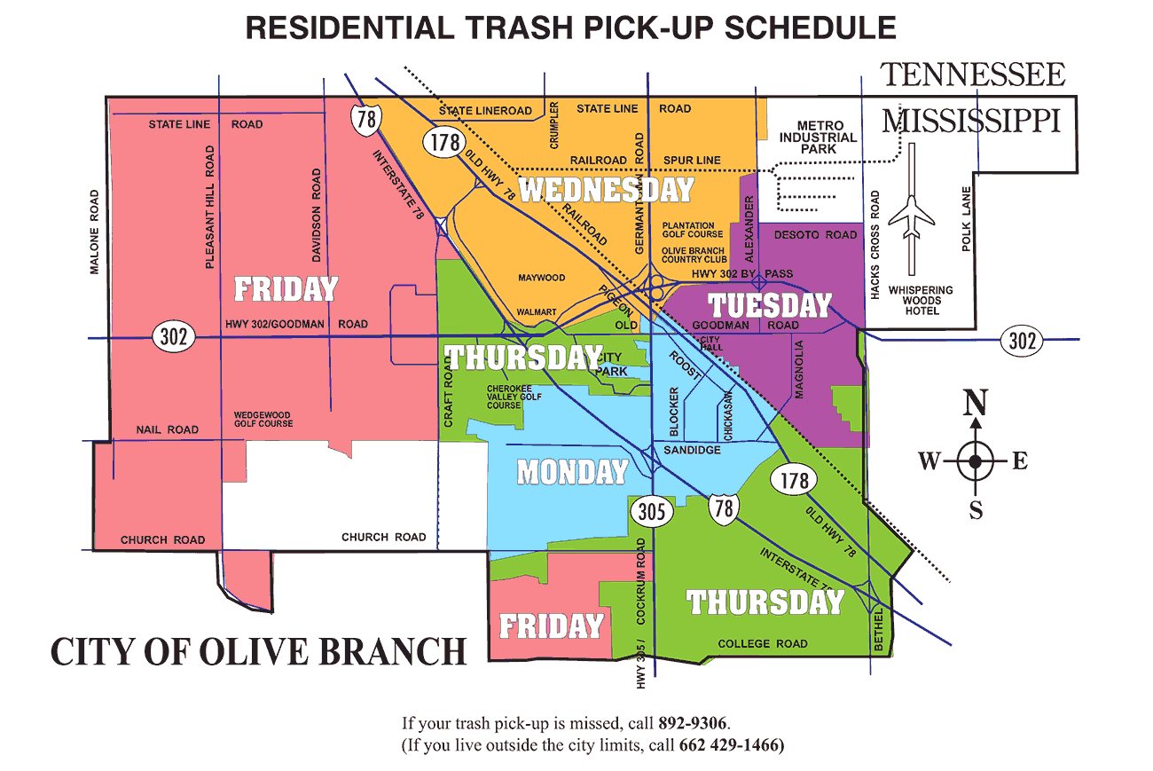Trash/Pickup Route