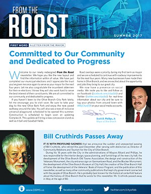 OB City Newsletters